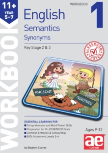11+ Semantics Workbook 1 - Synonyms, Paperback Book