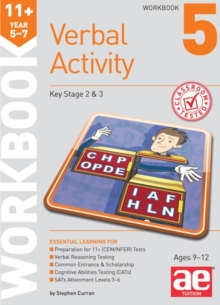 11+ Verbal Activity Year 5-7 Workbook 5 : Additional Multiple-Choice Practice Questions, Paperback Book