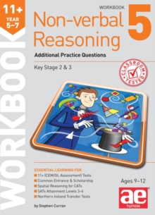 11+ Non-Verbal Reasoning Year 5-7 Workbook 5 : Additional Practice Questions, Paperback Book