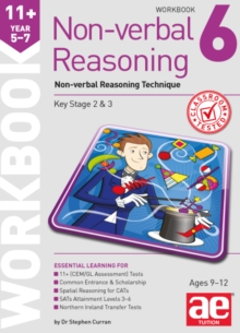 11+ Non-verbal Reasoning Year 5-7 Workbook 6 : Non-verbal Reasoning Technique, Paperback / softback Book