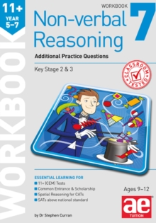 11+ Non-verbal Reasoning Year 5-7 Workbook 7 : Additional CEM Style Practice Questions, Paperback / softback Book