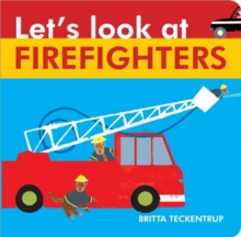Let's Look at Firefighters, Board book Book