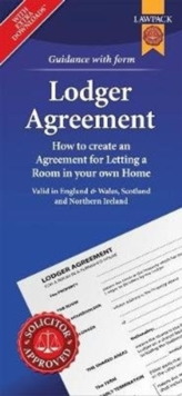 Lodger Agreement Form Pack : How to Create an Agreement for Letting a Room in Your Own Home, Paperback / softback Book
