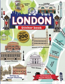 London Sticker Book, Paperback Book