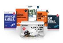 RAF Officer OASC Platinum Box Set: RAF Officer and Aircrew Selection Centre OASC, Planning Exercises, Armed Forces Tests, Speed, Distance and Time and RAF Officer Interview Questions and Answers, Shrink-wrapped pack Book