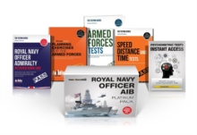 Royal Navy Officer AIB Platinum Package Box Set: Royal Navy Officer Admiralty Interview Board, Planning Exercises, Armed Forces Tests, Speed, Distance and Timetests, Shrink-wrapped pack Book