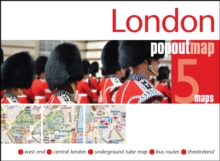 London PopOut Map, Sheet map, folded Book