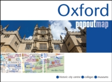 Oxford PopOut Map, Sheet map, folded Book