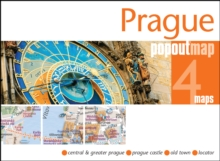 Prague PopOut Map, Sheet map, folded Book