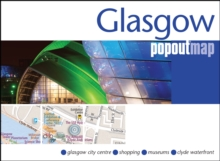 Glasgow PopOut Map, Sheet map, folded Book
