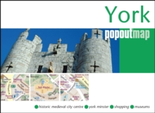York PopOut Map, Sheet map, folded Book