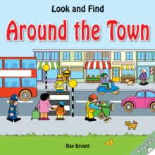 Look and Find: Around the Town, Board book Book