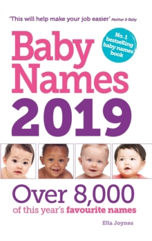Baby Names 2019, Paperback / softback Book