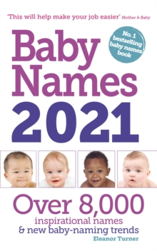 Baby Names 2021, Paperback / softback Book