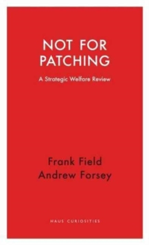Not for Patching : A Strategic Welfare Review, Paperback Book