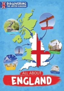 All About England, Hardback Book