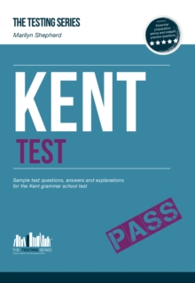 Kent Test: Sample Test Questions and Answers for the Kent Grammar School Tests, Paperback Book