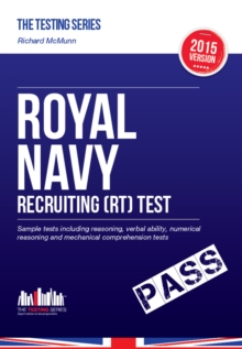 Royal Navy Recruiting Test 2015/16: Sample Test Questions for Royal Navy Recruit Tests, Paperback Book