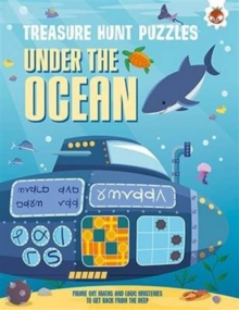 Treasure Hunt Puzzles - Under the Ocean, Paperback / softback Book