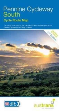 Pennine Cycleway South : Sustrans Cycle Map, Sheet map, folded Book