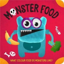 Monster Food Finger Puppet Book, Board book Book