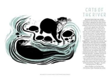 Tom Cox's 21st Century Yokel Poster - Cats of The River, Poster Book