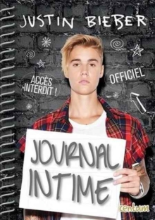 JUSTIN BIEBER SECRET JOURNAL, Hardback Book