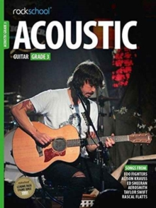 ROCKSCHOOL ACOUSTIC GUITAR - GRADE 3, Paperback Book