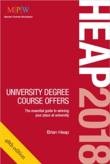 Heap 2018: University Degree Course Offers, Paperback Book