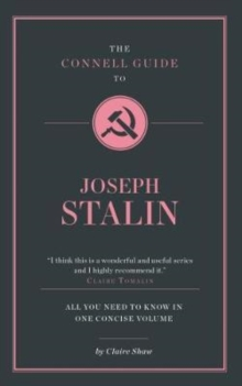 The Connell Guide to Stalin, Paperback Book