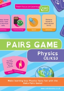 PHYSICS PAIRS GAME, Paperback Book