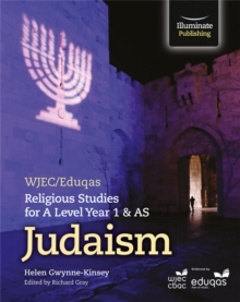 WJEC/Eduqas Religious Studies for A Level Year 1 & AS  - Judaism, Paperback Book