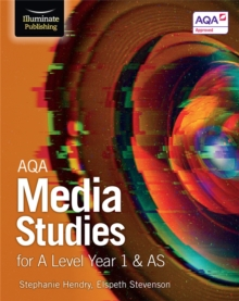 AQA Media Studies for A Level Year 1 & AS : Student Book, Paperback Book