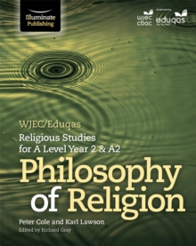 WJEC/Eduqas Religious Studies for A Level Year 2 & A2: Philosophy of Religion, Paperback Book