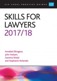 Skills for Lawyers 2017/2018, Paperback Book