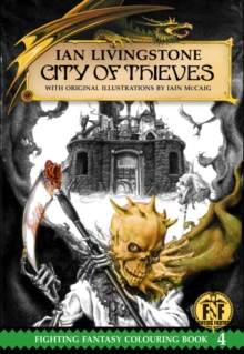 City of Thieves Colouring Book, Paperback / softback Book