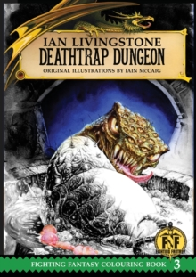 Deathtrap Dungeon Colouring Book, Paperback / softback Book