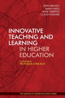 Innovative Teaching and Learning in Higher Education, Paperback / softback Book