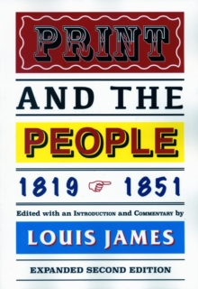 Print and the People 1819-1851, Paperback / softback Book