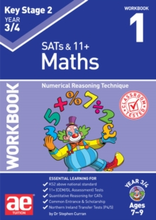 KS2 Maths Year 3/4 Workbook 1 : Numerical Reasoning Technique, Paperback / softback Book