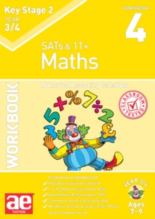 KS2 Maths Year 3/4 Workbook 4 : Numerical Reasoning Technique, Paperback / softback Book