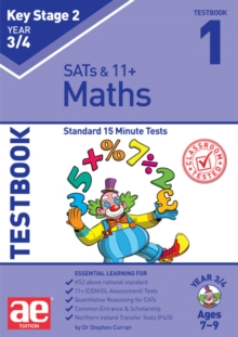 KS2 Maths Year 3/4 Testbook 1 : Standard 15 Minute Tests, Paperback / softback Book