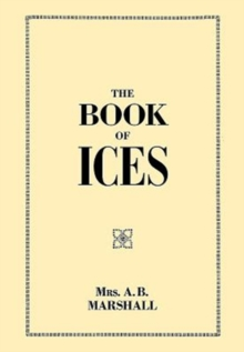 The Book of Ices, Paperback / softback Book