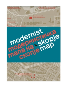 Modernist Skopje Map, Sheet map, folded Book
