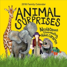Animal Surprises Family Calendar 2018, Calendar Book
