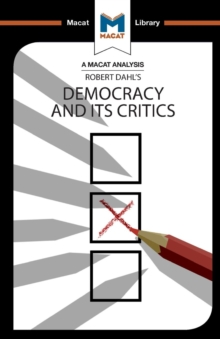 Democracy and its Critics, Paperback Book