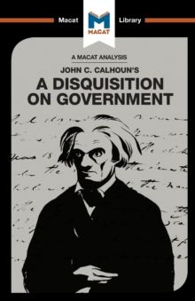 A Disquisition on Government, Paperback / softback Book