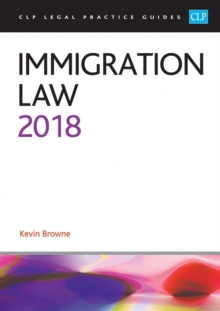 Immigration Law 2018, Paperback Book