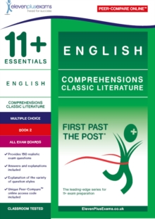 11+ Essentials English Comprehensions: Classic Literature Book 2, Paperback / softback Book