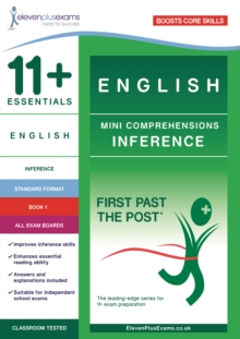 11+ Essentials English Mini Comprehensions: Inference Book 1, Paperback / softback Book